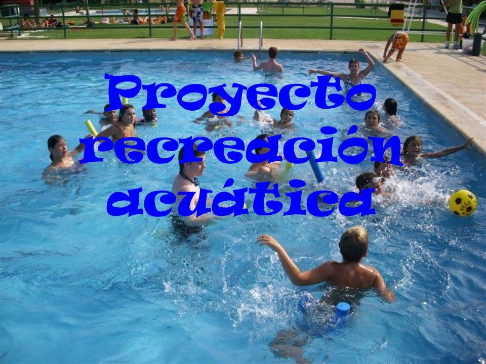 Proyecto recreación acuática
