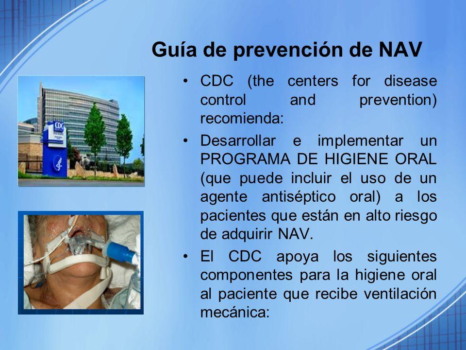 Guía de prevención de NAV
