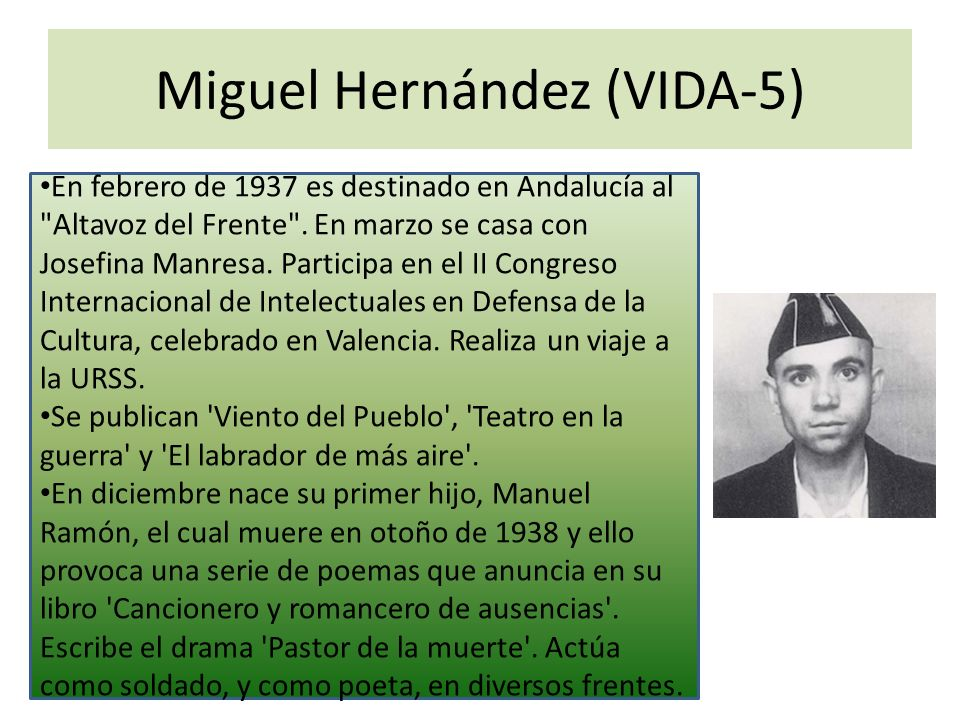 Miguel Hernández (VIDA-5)