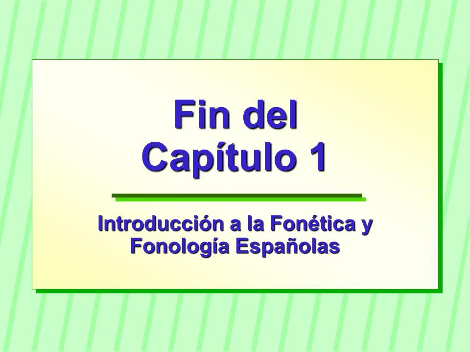 Introducción a la Fonética y
