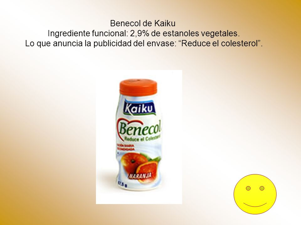 Ingrediente funcional: 2,9% de estanoles vegetales.