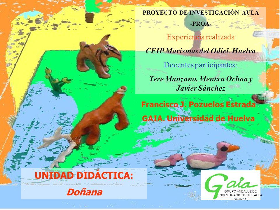 UNIDAD DIDÁCTICA: Doñana