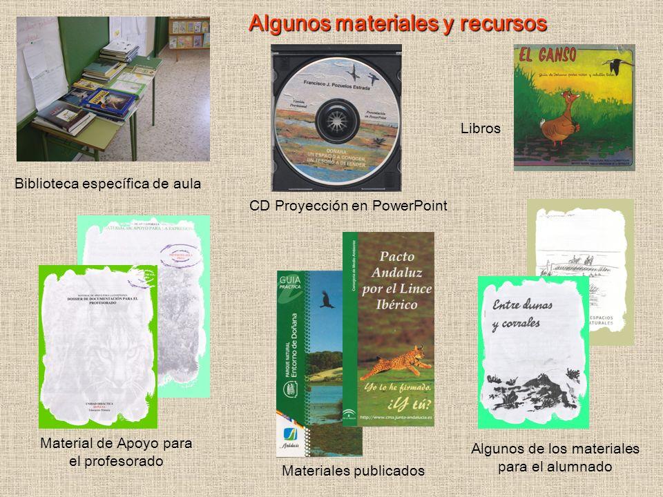 Algunos materiales y recursos