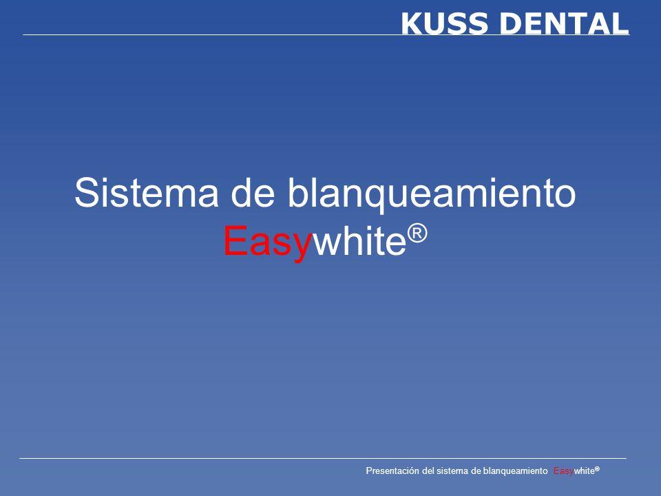 Sistema de blanqueamiento Easywhite®