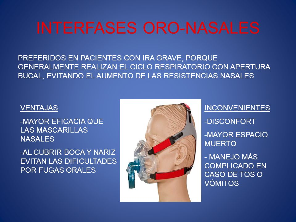 INTERFASES ORO-NASALES