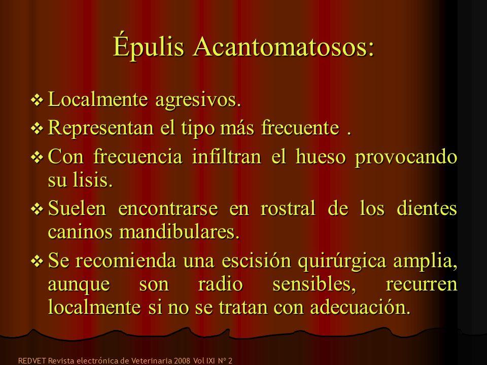Épulis Acantomatosos: