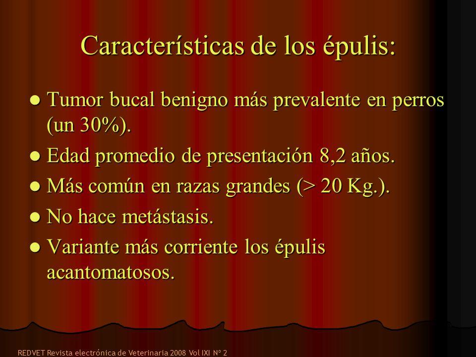 Características de los épulis: