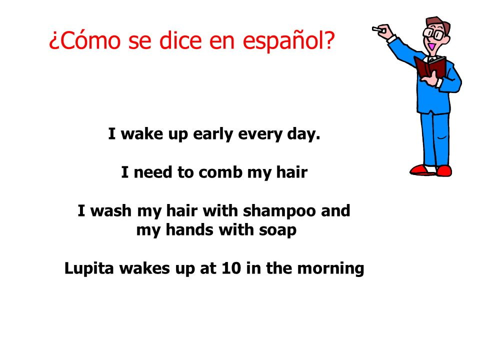 ¿Cómo se dice en español