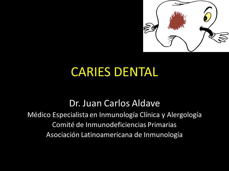 CARIES DENTAL Dr. Juan Carlos Aldave