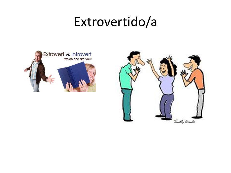Extrovertido/a