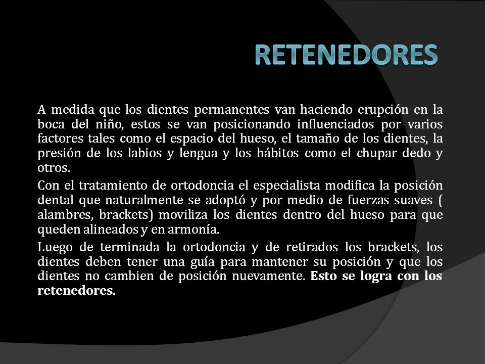 RETENEDORES