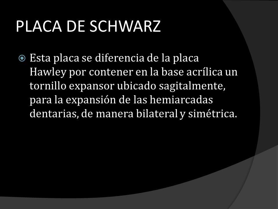 PLACA DE SCHWARZ