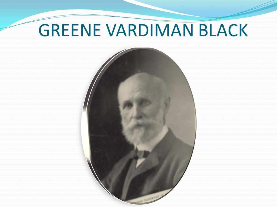 GREENE VARDIMAN BLACK