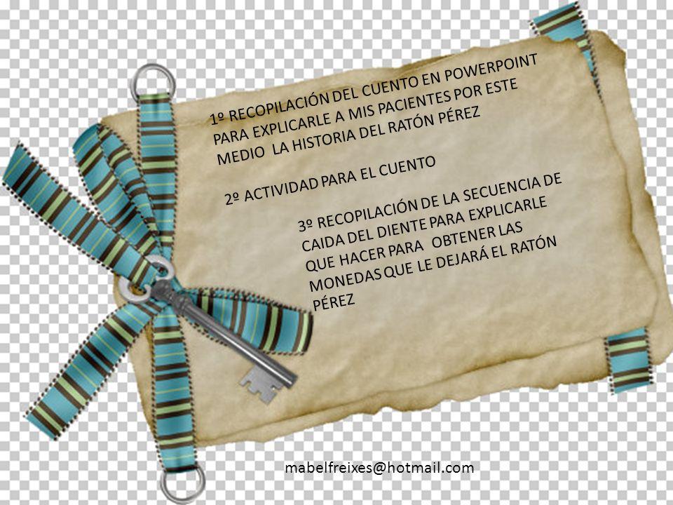 1º RECOPILACIÓN DEL CUENTO EN POWERPOINT