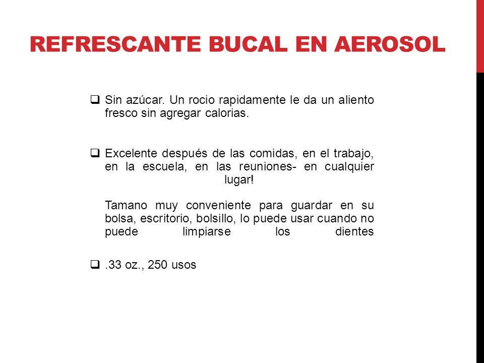 REFRESCANTE BUCAL EN AEROSOL