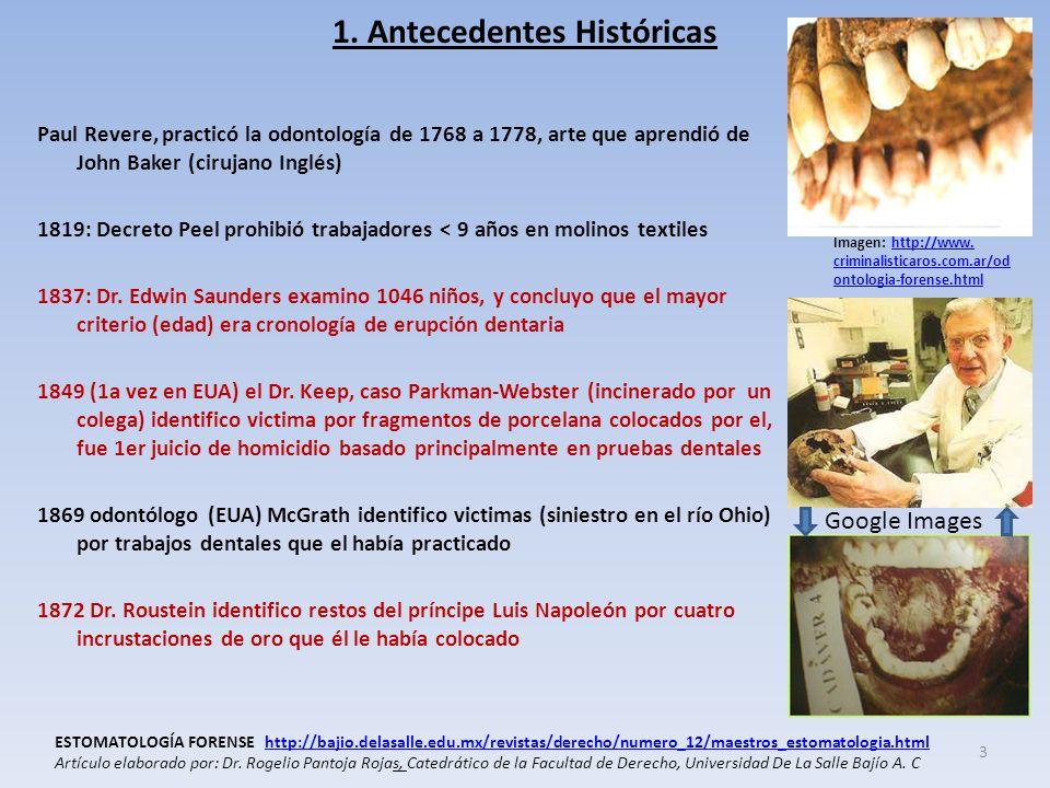 1. Antecedentes Históricas