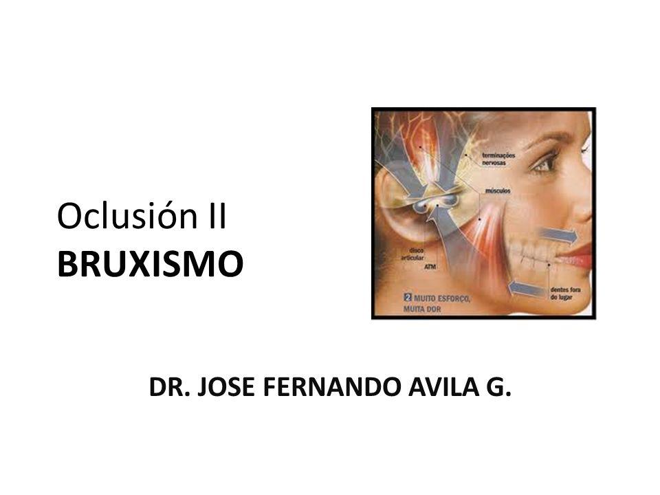 DR. JOSE FERNANDO AVILA G.