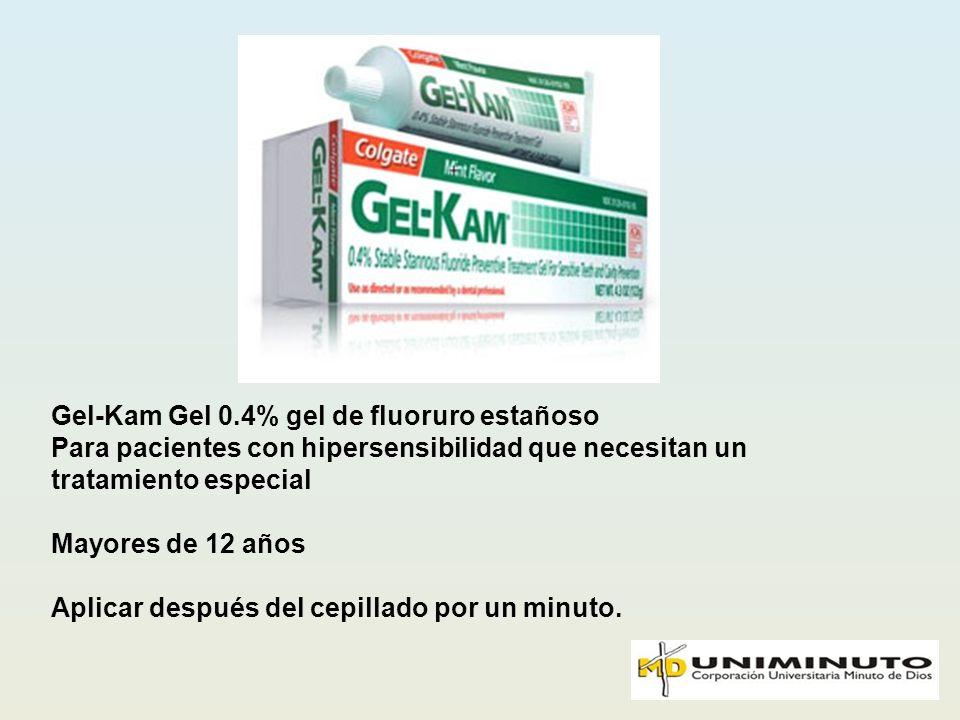 Gel-Kam Gel 0.4% gel de fluoruro estañoso