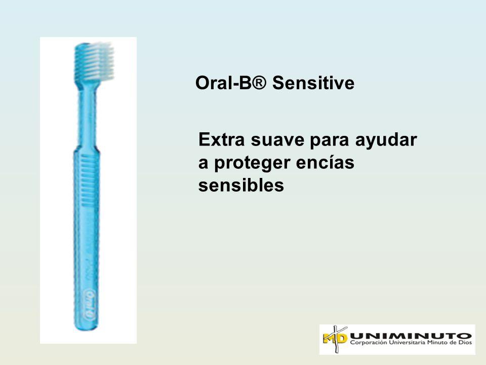 Oral-B® Sensitive Extra suave para ayudar a proteger encías sensibles