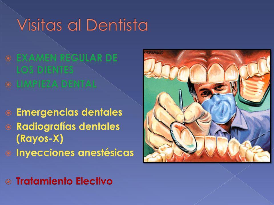 Visitas al Dentista Examen Regular de los dientes LiMPIEZA DENTAL