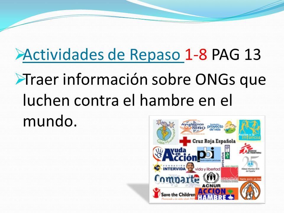 Actividades de Repaso 1-8 PAG 13
