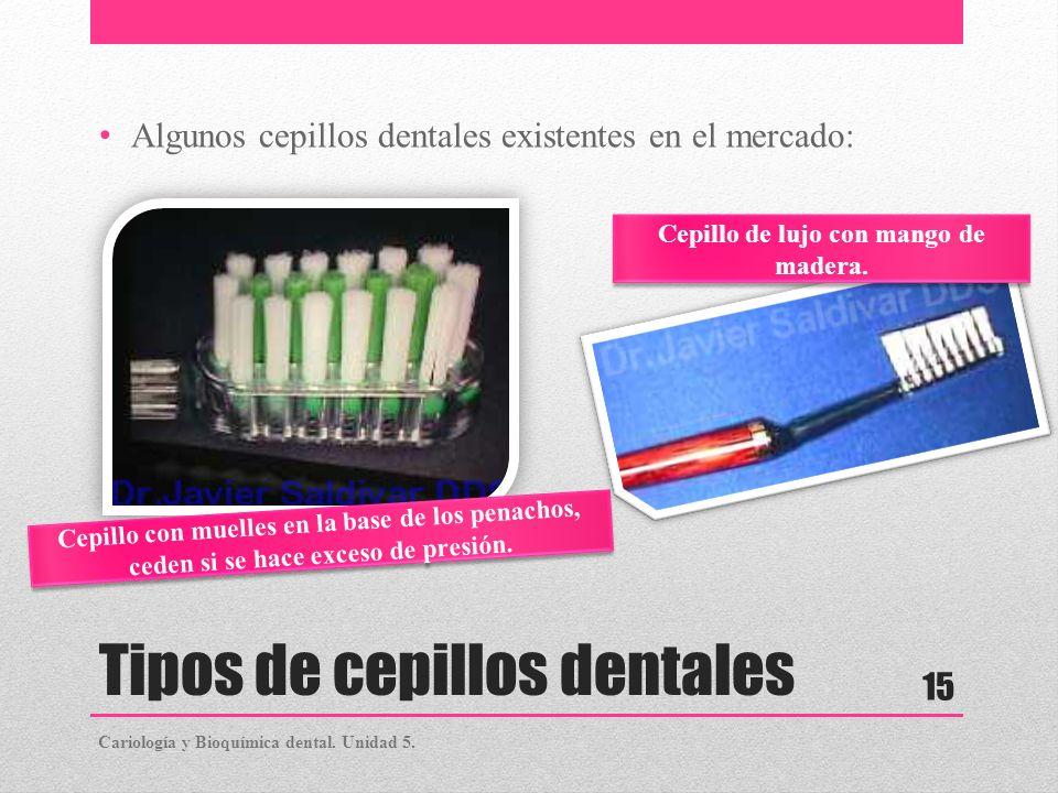 Tipos de cepillos dentales
