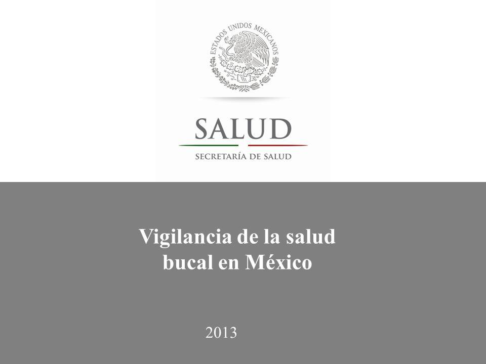 Vigilancia de la salud bucal en México