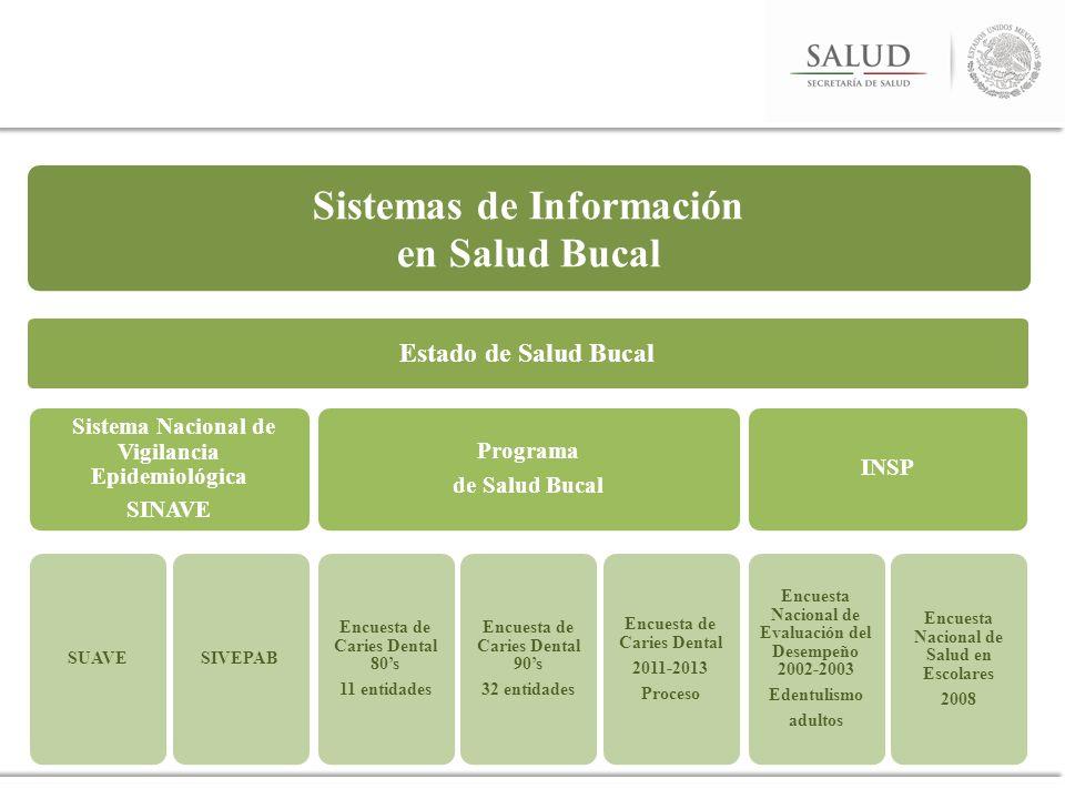 Sistemas de Información en Salud Bucal