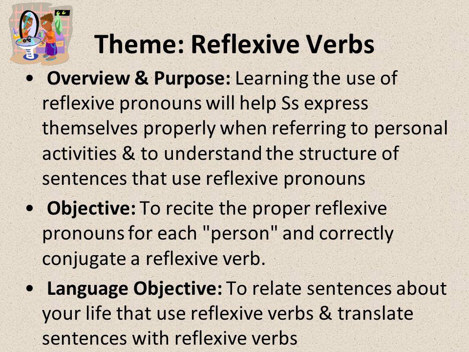 Theme: Reflexive Verbs