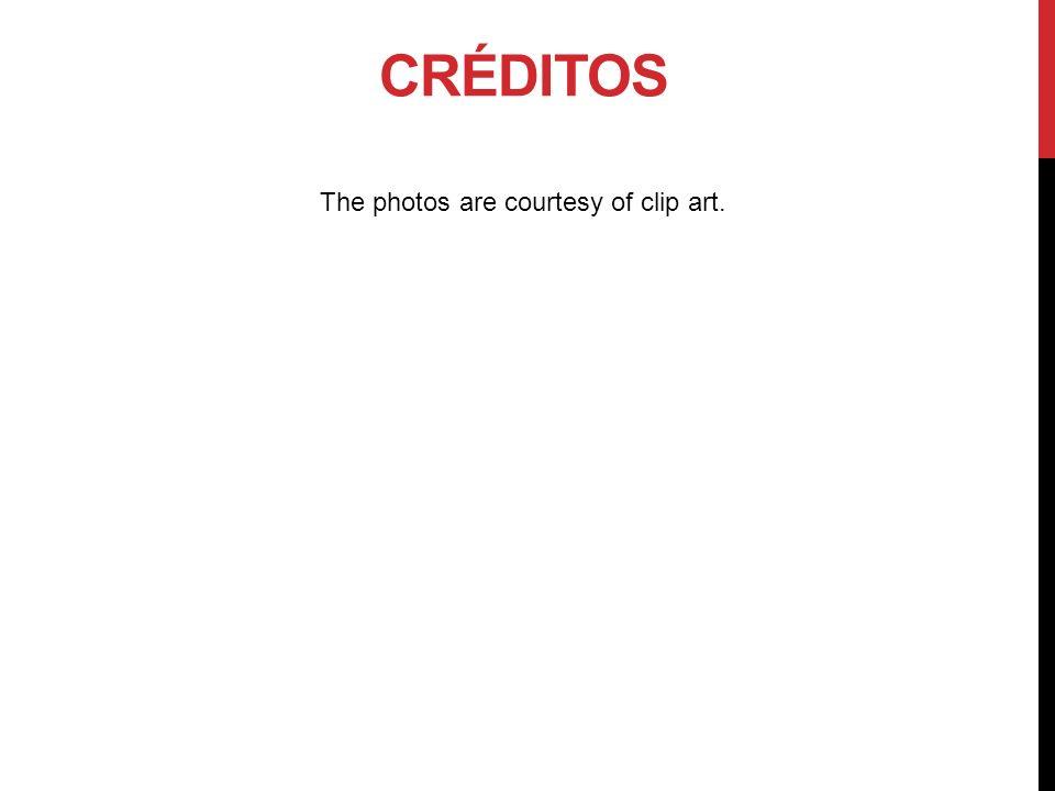 The photos are courtesy of clip art.