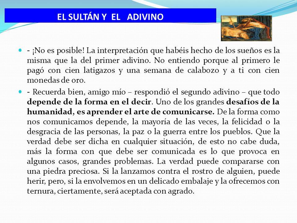 EL SULTÁN Y EL ADIVINO