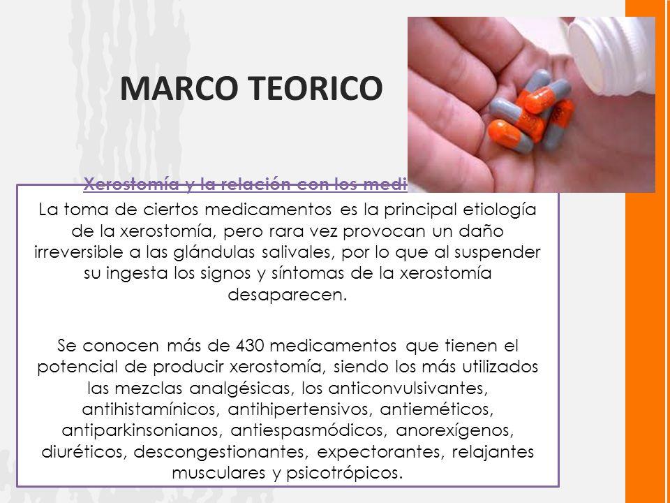 Xerostomía y la relación con los medicamentos