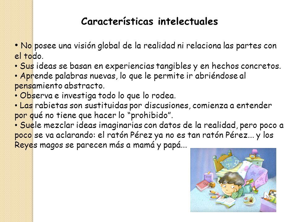Características intelectuales