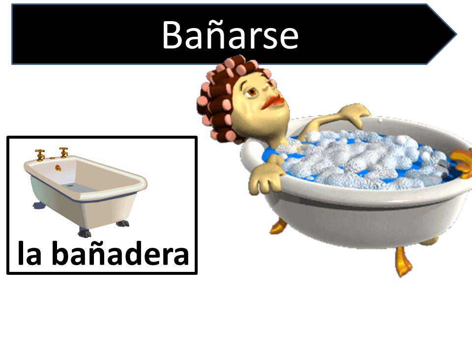 Bañarse la bañadera