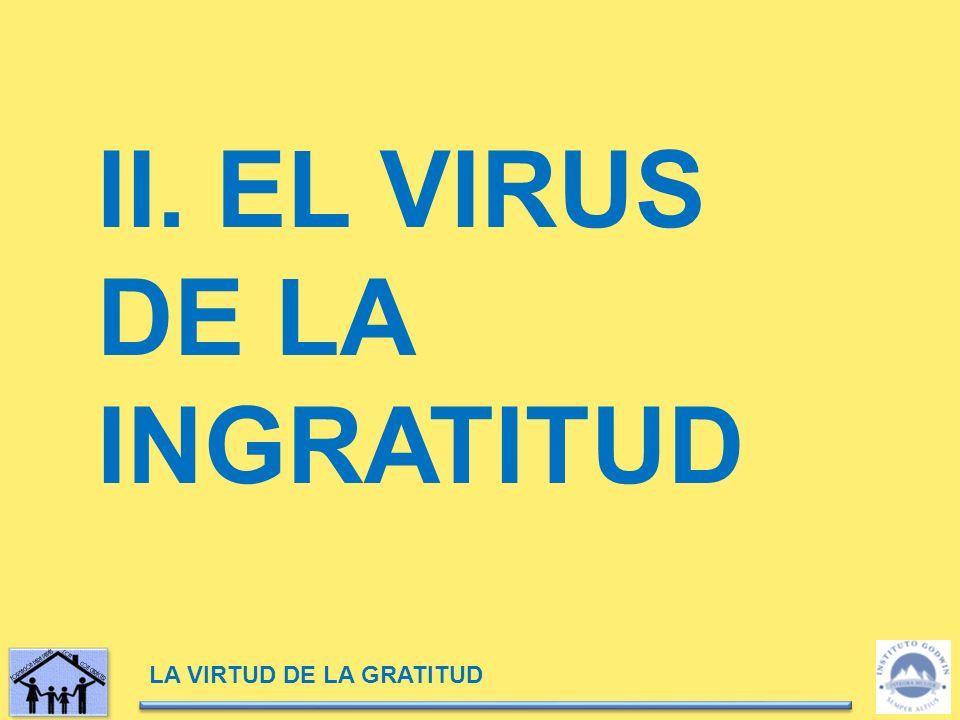 II. EL VIRUS DE LA INGRATITUD