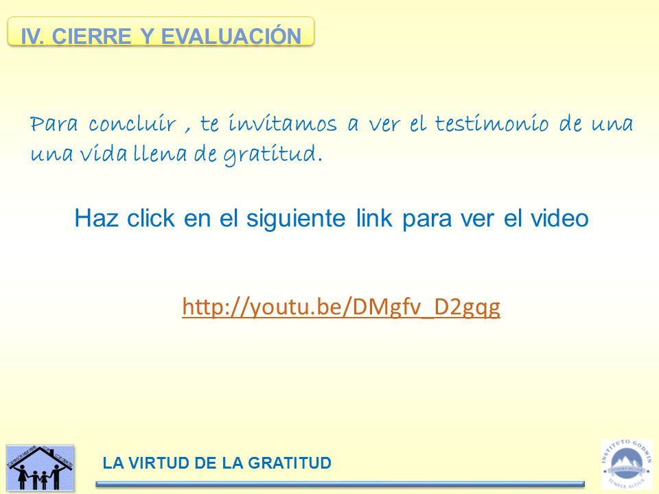 Haz click en el siguiente link para ver el video