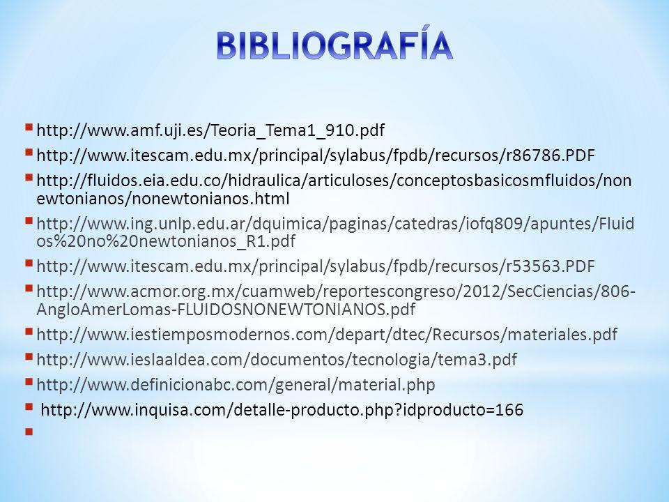 BIBLIOGRAFÍA http://www.amf.uji.es/Teoria_Tema1_910.pdf