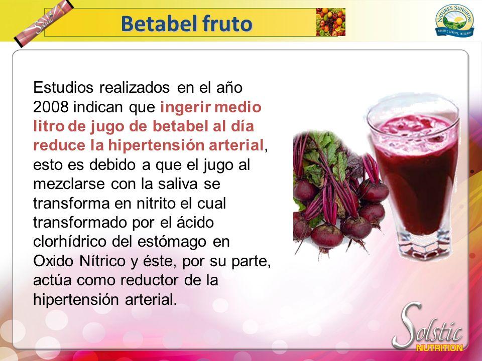 Betabel fruto