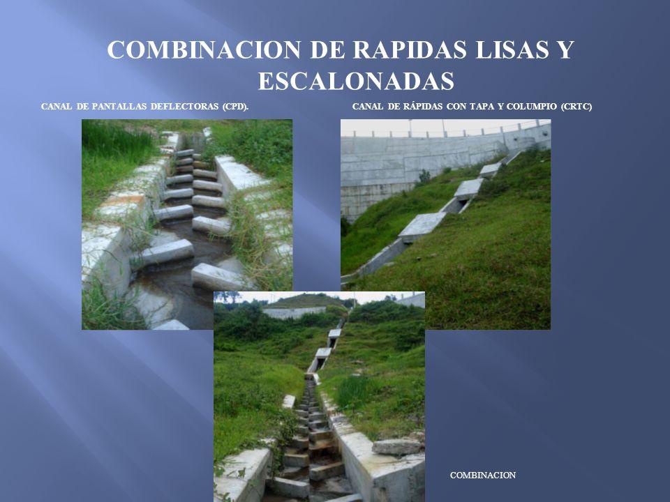 COMBINACION DE RAPIDAS LISAS Y ESCALONADAS