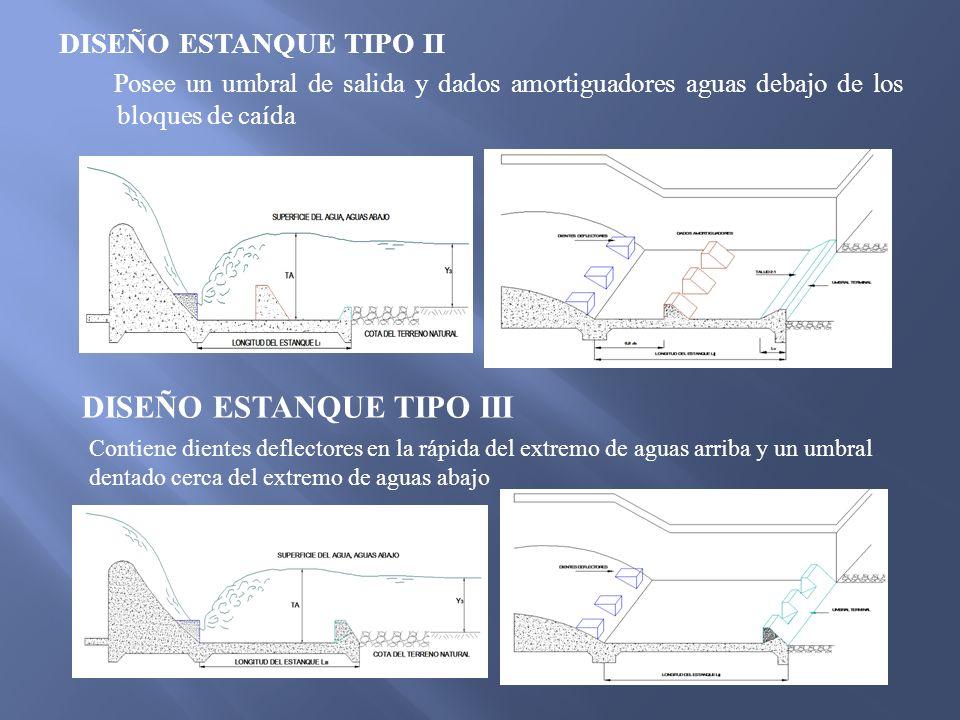 DISEÑO ESTANQUE TIPO III
