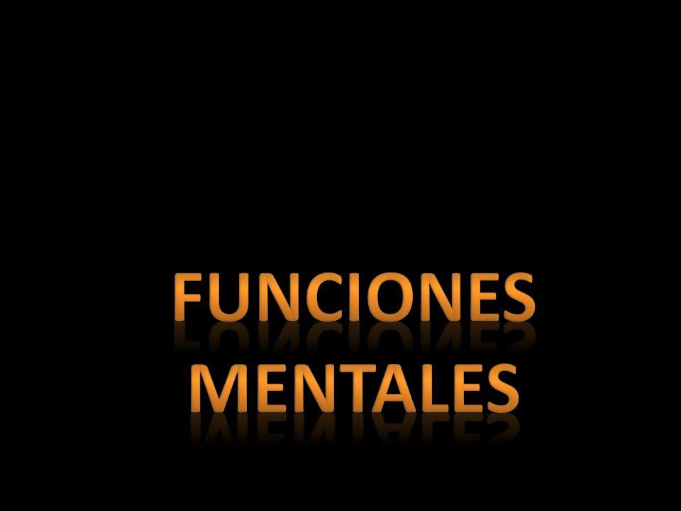 Funciones mentales