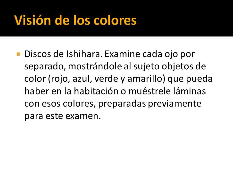 Visión de los colores