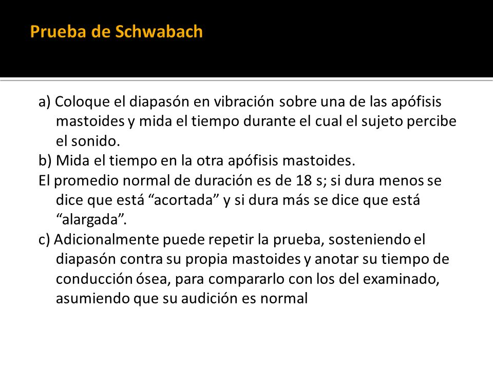 Prueba de Schwabach
