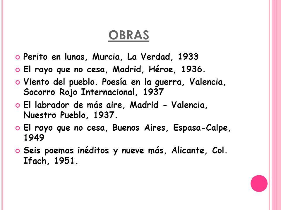 OBRAS Perito en lunas, Murcia, La Verdad, 1933