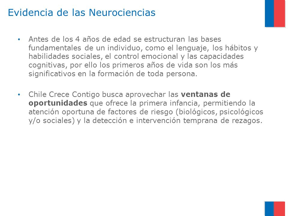 Evidencia de las Neurociencias