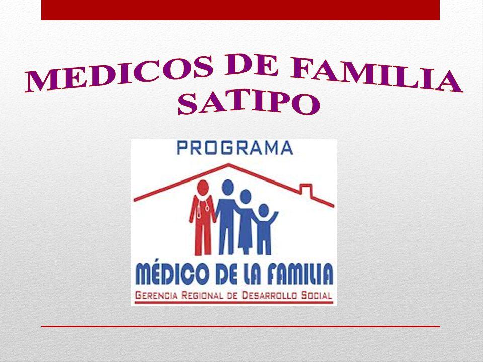 MEDICOS DE FAMILIA SATIPO