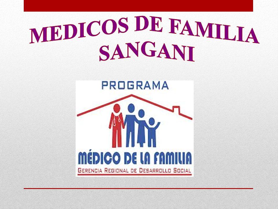 MEDICOS DE FAMILIA SANGANI