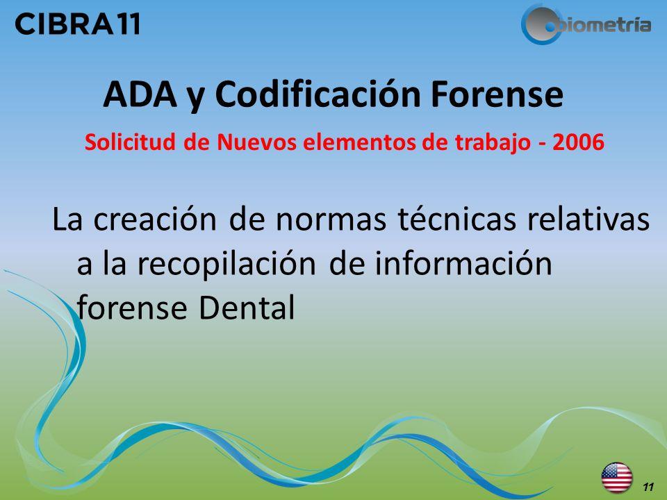ADA y Codificación Forense