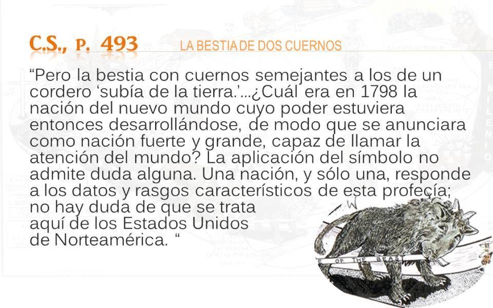 C.S., p. 493 LA BESTIA DE DOS CUERNOS