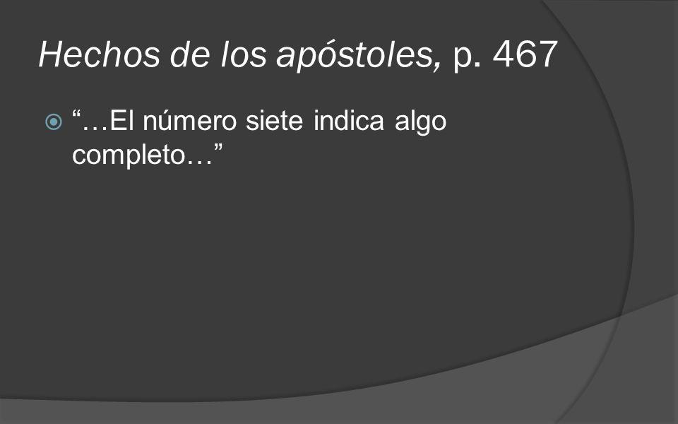 Hechos de los apóstoles, p. 467